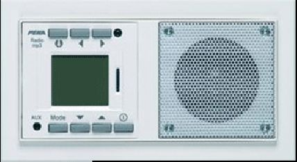 Peha Inbouwradio RDS + MP3 Audiopoint