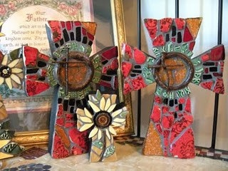 His House Mosaic Arts . . . beautiful mosaics, especially crosses, I saw this product on TV and have already lost 24 pounds! http://weightpage222.comBeautiful Mosaics, Mosaics Artworks, Crafts Art, Mosaics Beautiful, Mosaics Crosses, House Mosaics, Beautiful Art, Artauct Ideas, Mosaic Art