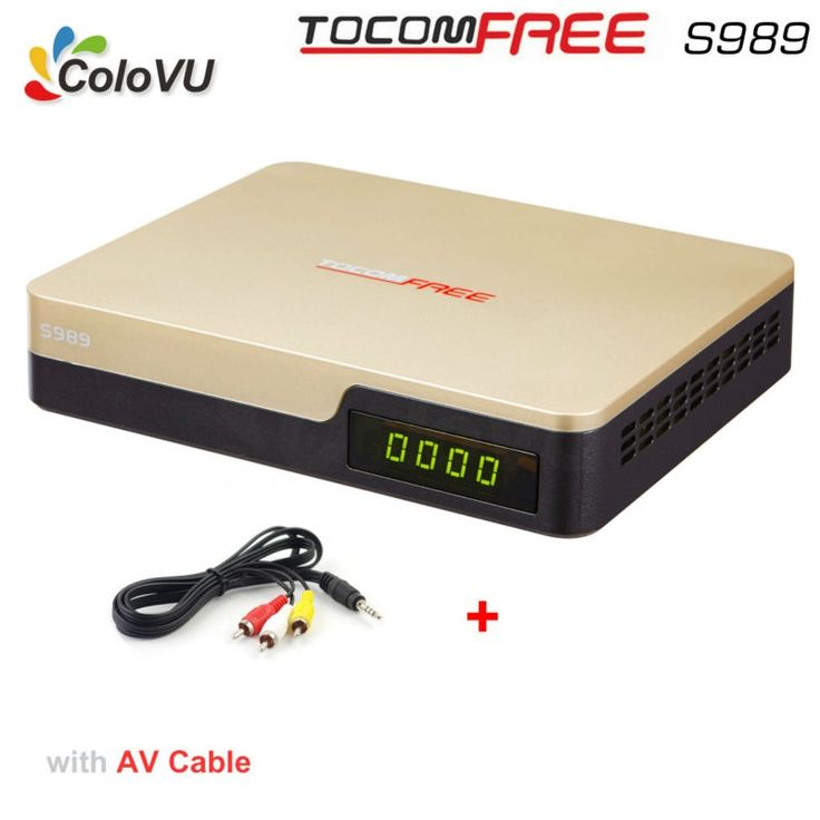 99.99$  Watch here - http://alialk.worldwells.pw/go.php?t=32756881687 - Satellite TV Receiver TocomFree S989 + AV Cable with Free IKS SKS IPTV for Brazil Chile Peru Argentina Colombia South America 99.99$