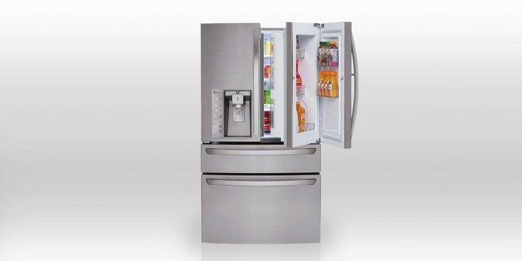 12 Best French Door Refrigerator Reviews 2016  - Top Refrigerators for Price, Sale & Fridge Reviews
