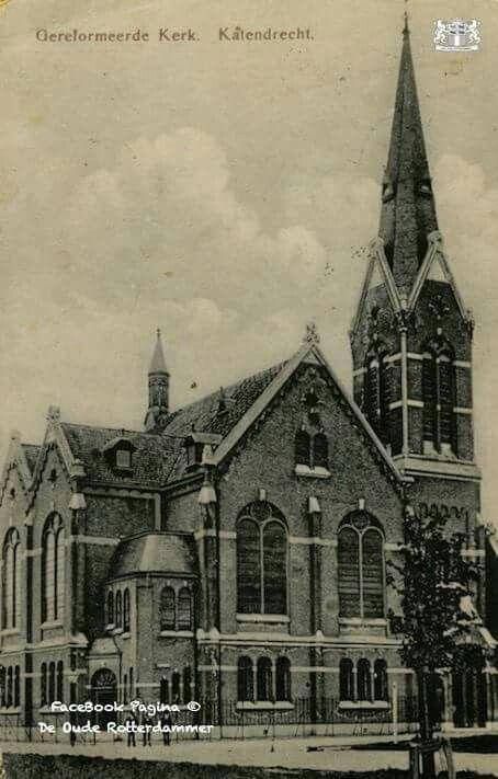 De Gereformeerde putseeinkerk aan de putseplein wijk bloemhof 1906