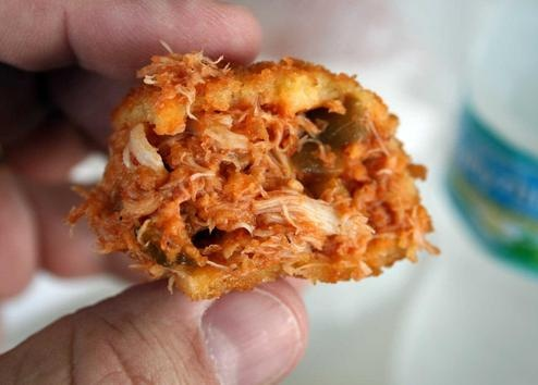 """Brocato""""s Devil crab Tampa, fl!  Hand's down the BEST Cuban and Deviled Crab in Tampa"""