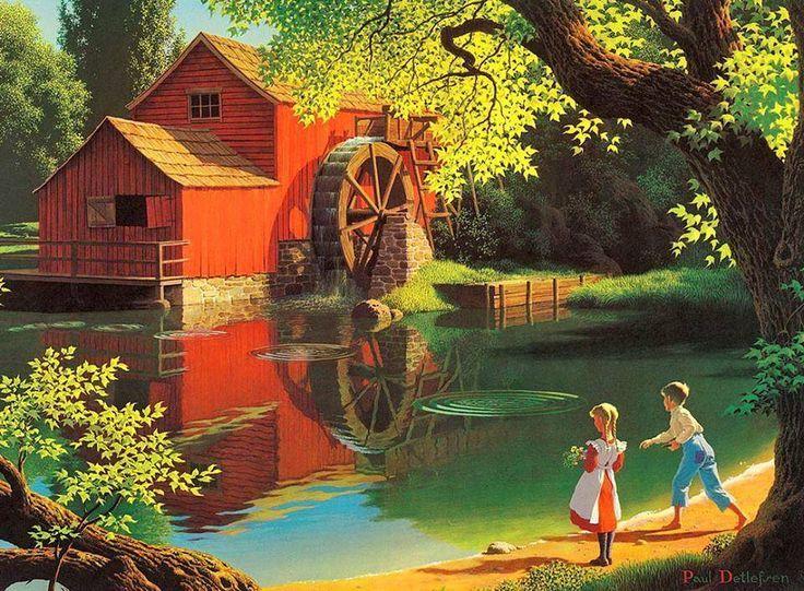 Pintura de Paul Detlefsen