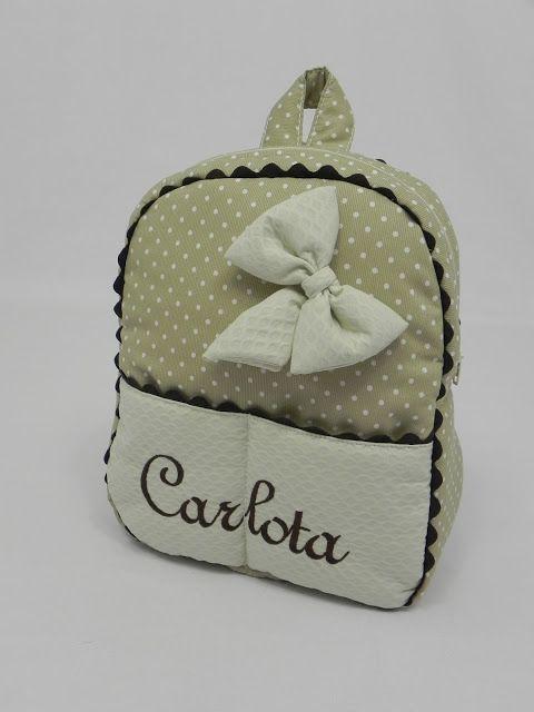 La mochila se ha convertido en un imprescindible no sólo para la guardería, desde muy bebés ya les hacemos la mochila por eso está en todas ...