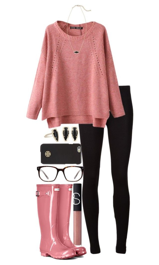 good preppy rainy day outfit 14