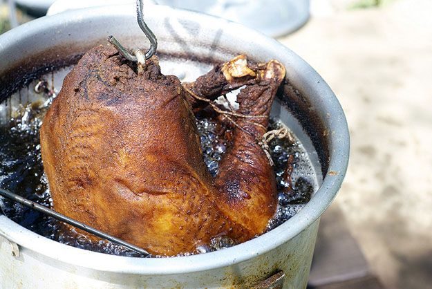 Want to Deep Fry A Turkey? Here's How to Do It The Right Way (Nobody Catches On Fire) by Pioneer Settler at  http://pioneersettler.com/how-to-deep-fry-a-turkey/