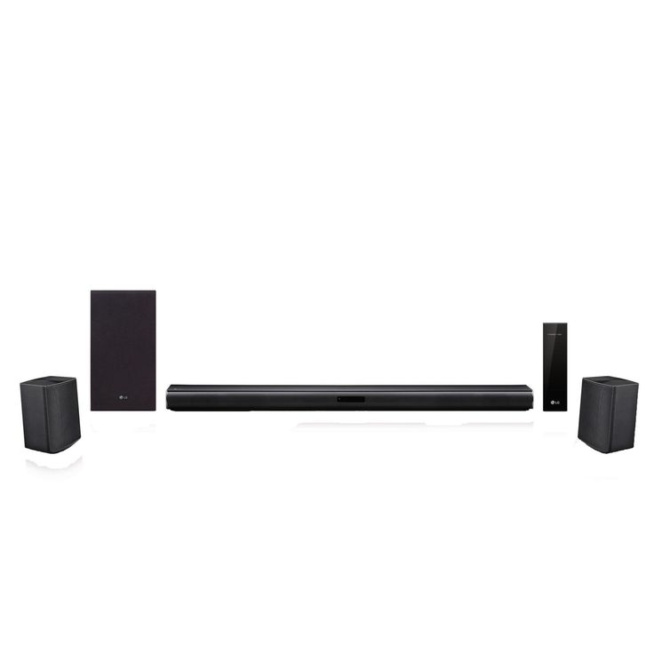 LG SJ4R 4.1 ch Soundbar Surround System with Wireless Surround Sound Speakers -