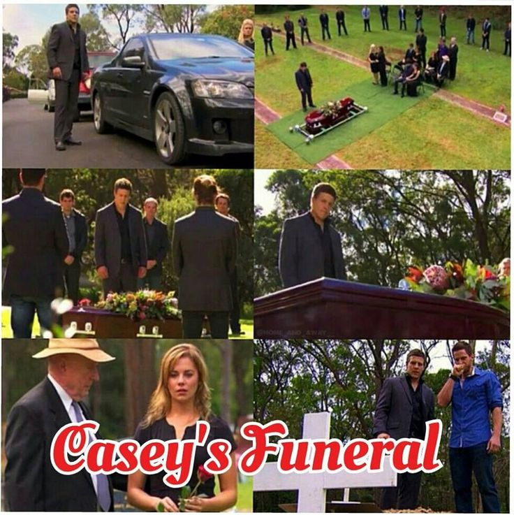 Casey's funeral! Miss him
