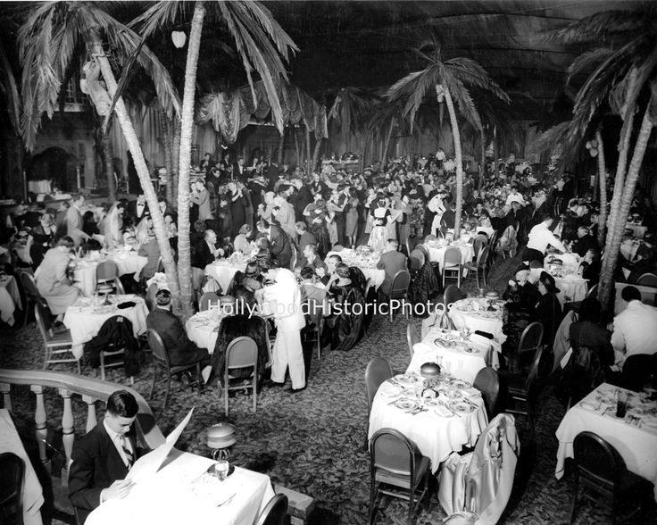 Ambassador Hotel Los Angeles Cocoanut Grove 1940 S