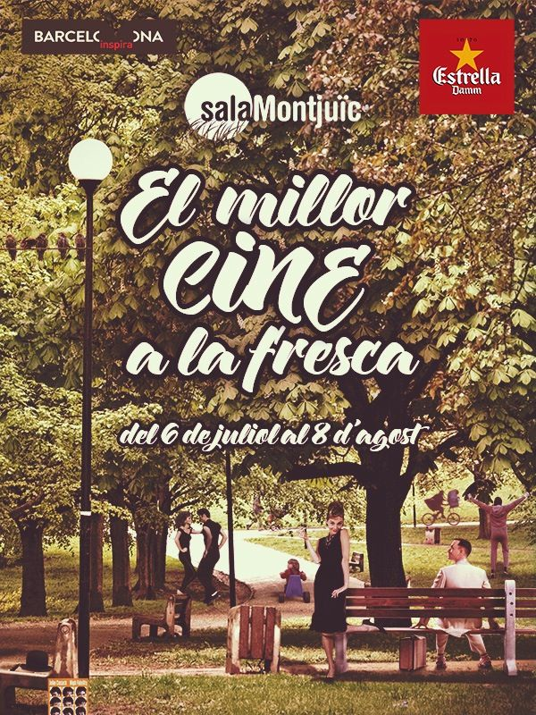 Sala Montjüic 2014 - OPEN-AIR FILM FESTIVAL UNDER THE BARCELONA SKY A selection of the best movies of all time, with concerts, picnics and short films. From the 6th of July to the 8th of August - Summer 2014