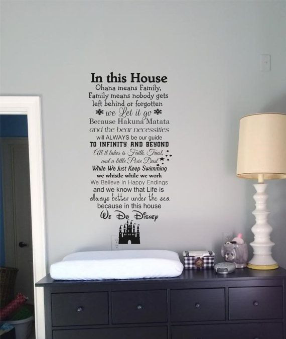 Best 20 Disney wall decals ideas on Pinterest Disney sayings