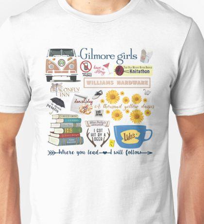 Gilmore Girls Collage Unisex T-Shirt