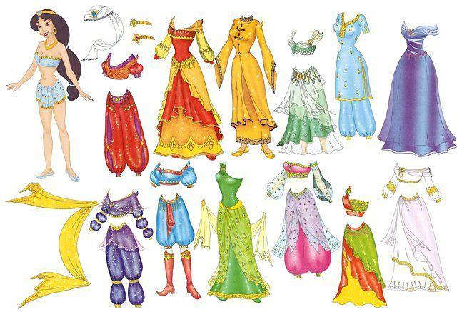 Бумажные куклы для вырезания с одеждой. Бумажная мебель ...