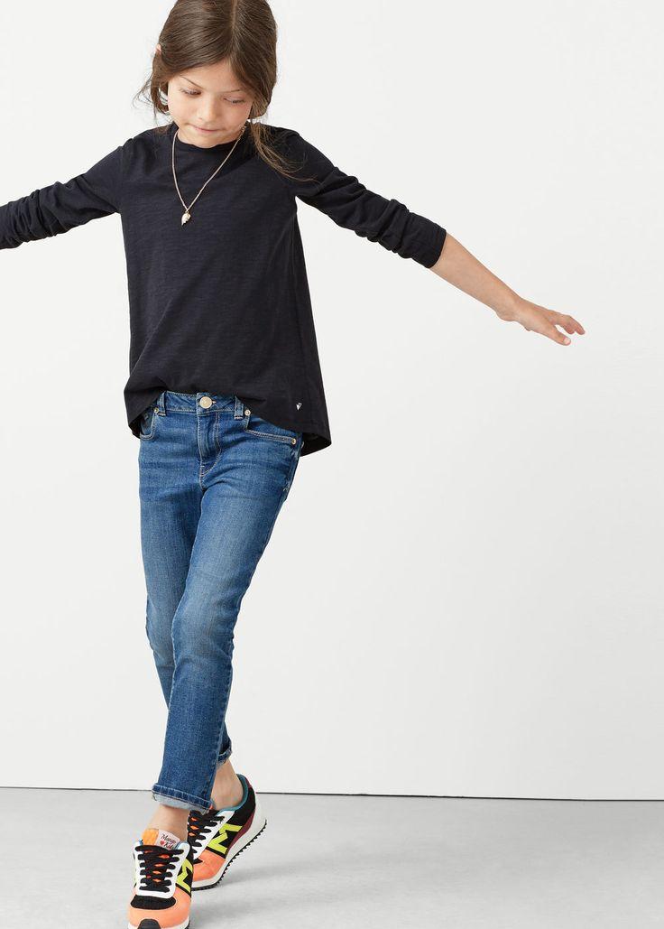Slim-fit jeans  -  Kinderen | MANGO Kids België