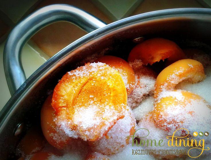 Apricot jam HomeDining home-made pure delicacies facebook.com/homedining info at budapesthomedining dot com