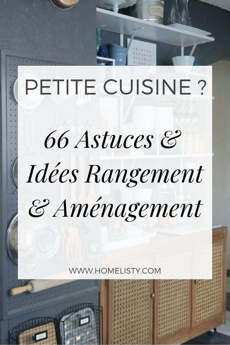PETITE CUISINE ? 66 Idées & Astuces de Rangement