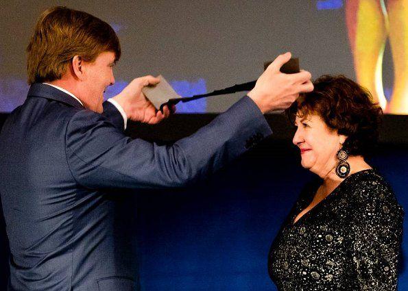 Dutch Royal Family attended Erasmus 2017 Prize ceremony