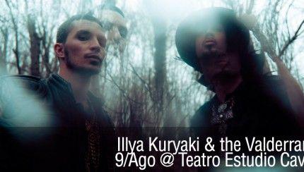 Illy Kuriaky and the Valderramas – 9 de Agosto @ Teatro Estudio Cavaret http://www.kavolta.com/agenda/illy-kuriaky-and-the-valderramas-9-de-agosto-teatro-estudio-cavaret/