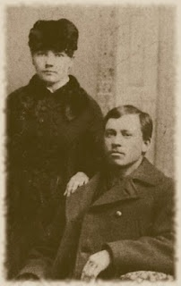 Laura Ingalls and Almanzo Wilder