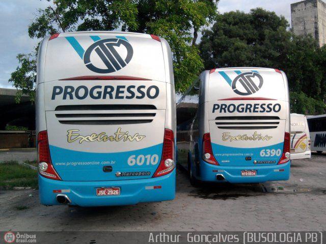 Ônibus da empresa Auto Viação Progresso, carro 6010, carroceria Marcopolo Paradiso G7 1200, chassi Scania K310. Foto na cidade de João Pessoa-PB por Arthur  Gonçalves (BUSOLOGIA PB), publicada em 17/05/2011 17:09:17.