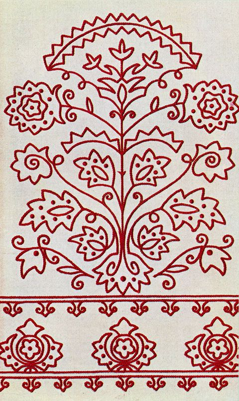 free hungarian embroidery patterns | In the Labyrinth: Embroidery