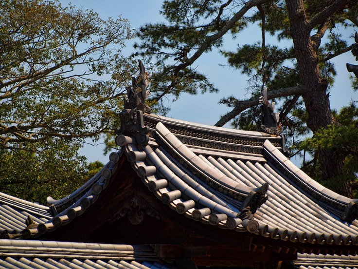 1000+ Images About Architectural, Japan, Roofs Rails And