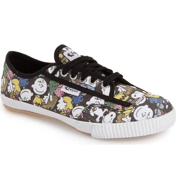 Main Image - Feiyue. 'Fe Lo - Peanuts' Canvas Sneaker (Women)