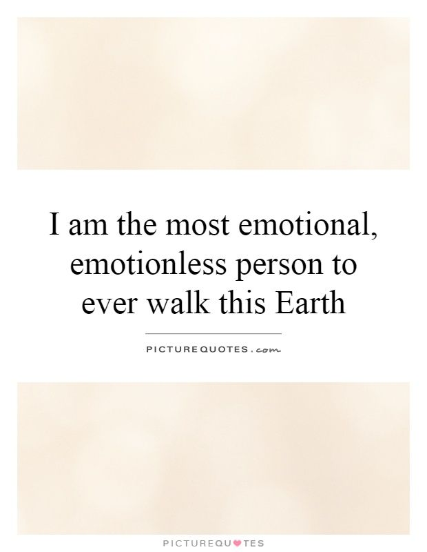 Emotionless Quotes & Sayings | Emotionless Picture Quotes