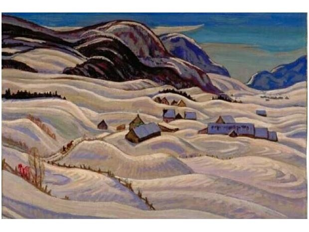 A.Y. Jackson - Road to Baie, St. Paul