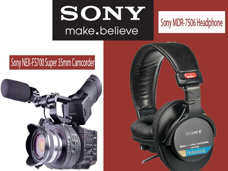 The Sony NEX-FS700 Super 35 Camcorder (Body Only) is a fully professional large-sensor video camera. Hot on the heels of the FS100, this compact, highly modular camera uses a very similar-sized Super 35 CMOS sensor as the FS100