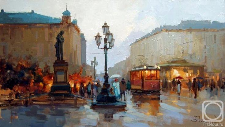Шалаев Алексей. Пушкинская площадь. Старая Москва