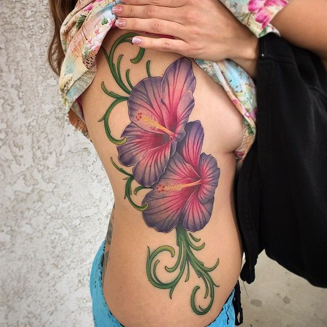 tattoo-journal | 50 Gorgeous Hibiscus Flower Tattoo Meaning and Designs � Organic and Natural | http://tattoo-journal.com