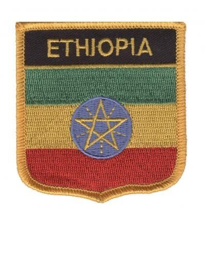 Ethiopia Patch Collectible Iron-On High Quality Stitching