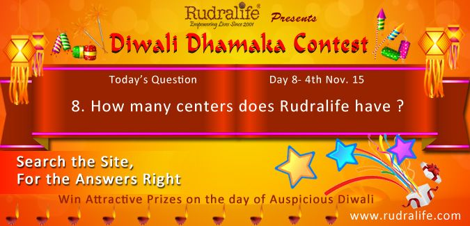 Diwali Dhamaka Contest 2015 (Day - 8) To Participate Click Here http://rudralife.com/index.php/diwalicontest