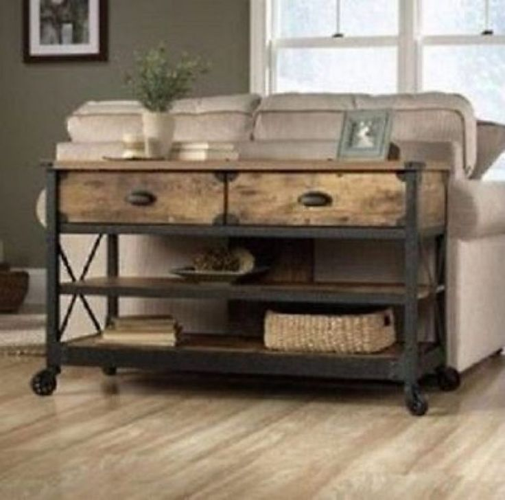 Wonderful Rustic Sofa Table With Rustic Sofa Table With Storage Designs  Design Beautiful Picture On Great