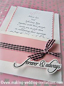 43 best Wedding Invitation Ideas images on Pinterest Invitation
