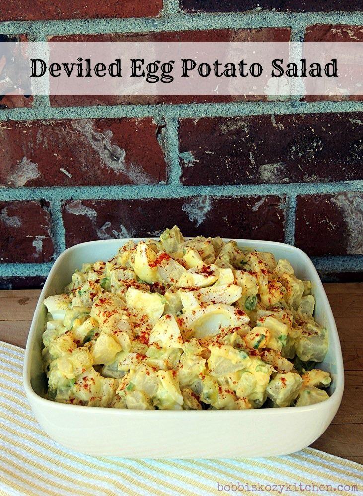 Bobbi's Kozy Kitchen: Deviled Egg Potato Salad