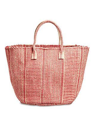 3a34c237179cd Lucky Brand Farmers Market Tote   Red  totesbrand