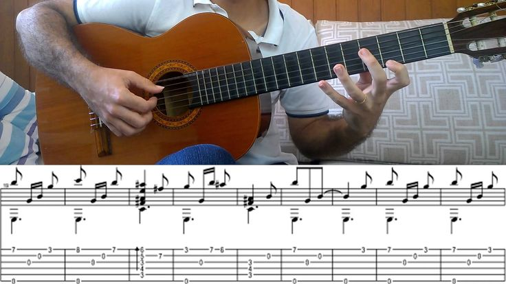 Fingerstyle Tutorial: Harry Potter theme song (Guitar Tab)