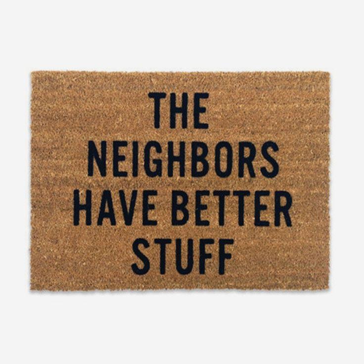 Best doormat ever. http://go.brit.co/1BF5u2s