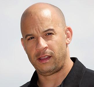 Famous bald men  # 5 Vin Diesel
