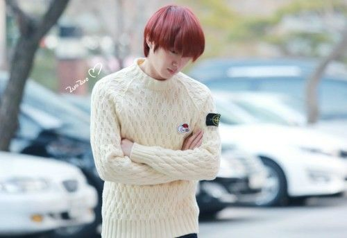 131223 Heechul at JTBC Building for 'War of Words' Recording [3P] Posted by superlove