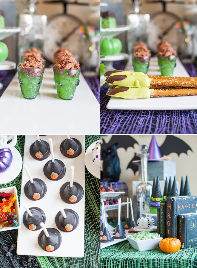 Monster Ball Halloween Picture - lots of cute halloween treats