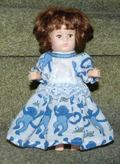 Vogue Ginny Eight Inch Doll Dress Pattern