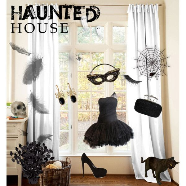 """Hounted House"" by yvonne-alsemgeest on Polyvore"