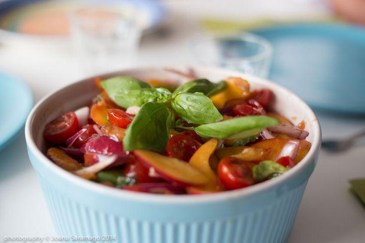 Supper Freek's Nectarine Salad