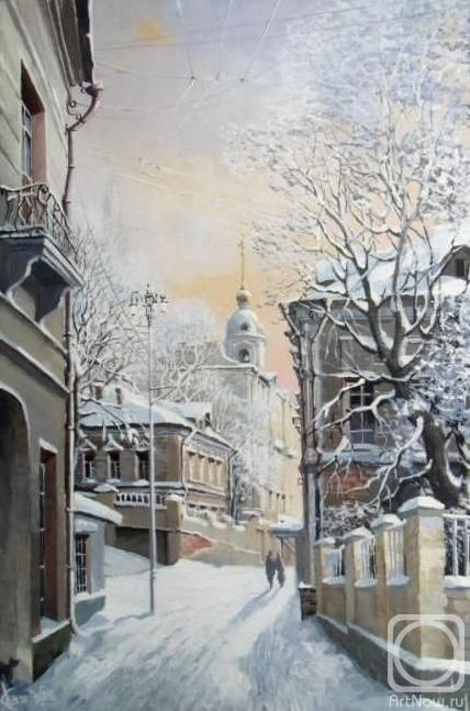 Стародубов Александр. Москва зимой