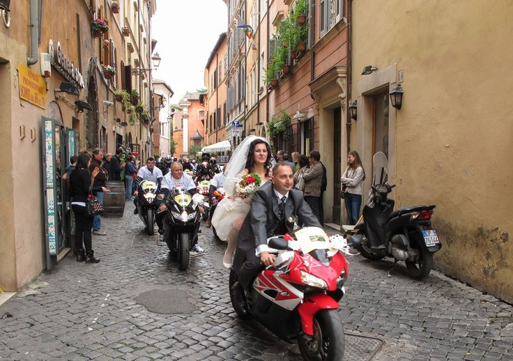 Fahrt in die Ehe