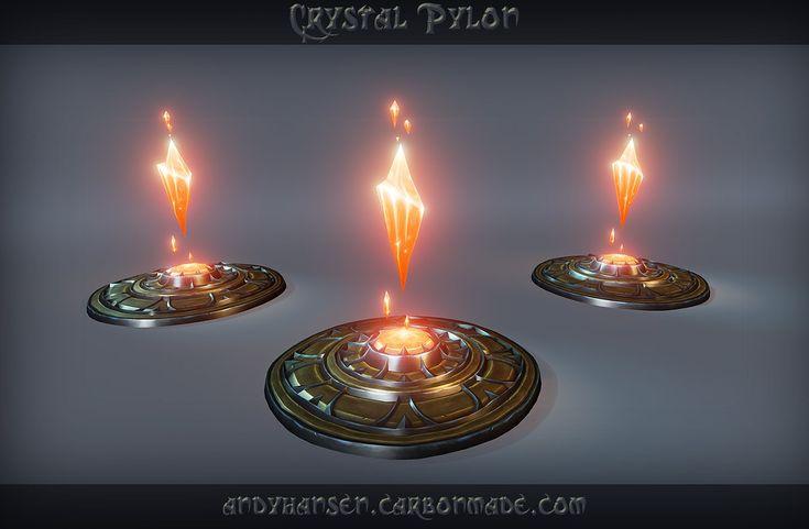 ArtStation - Crystal Pylon, Andy Hansen