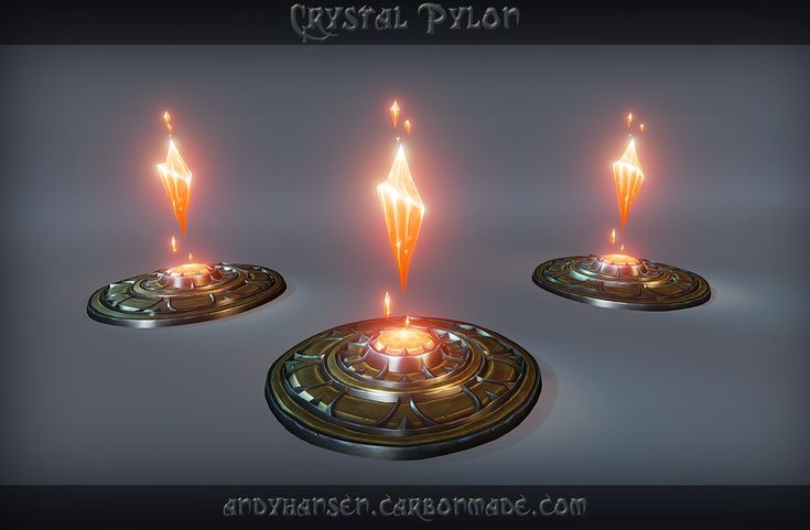 ArtStation - Crystal Pylon, Andy Hansen